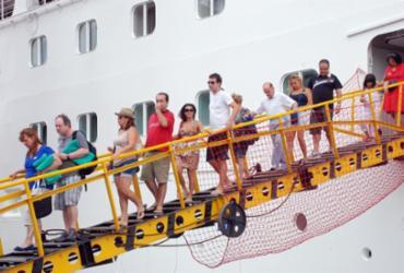 Chegada de cruzeiros marítimos movimenta o mercado de turismo na Bahia
