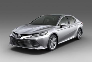 Novo Toyota Camry chega ao Brasil