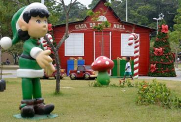 Casa do Papai Noel pode ser visitada até o dia 25 no Parque da Cidade