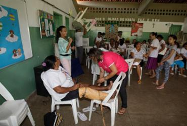 Moradores têm dia de oferta de serviços no CSU de Narandiba