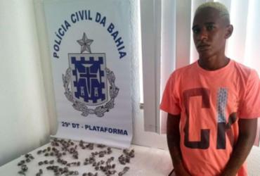 Traficante que respondia em liberdade por homicídio é preso no Lobato