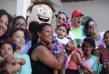 Festa diverte crianças assistidas pela ONG Abraço à Microcefalia