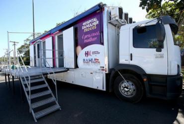 Unidade móvel do Hospital da Mulher chega a Jequié nesta quinta-feira