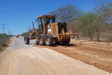 Estradas estaduais são recuperadas e recebem obras de manutenção