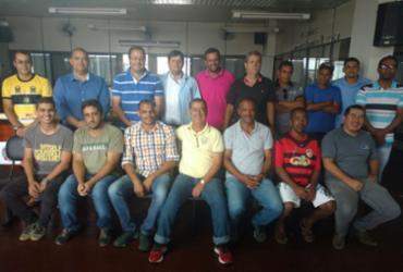Liga Morrense de Futebol se reúne com o prefeito de Morro do Chapéu