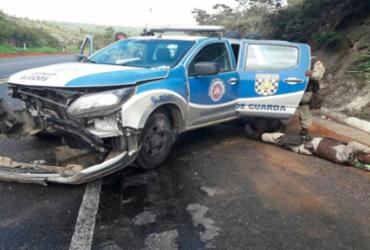 Acidente deixa quatro PMs feridos no interior da Bahia | Cidadão Repórter | Via Whatsapp