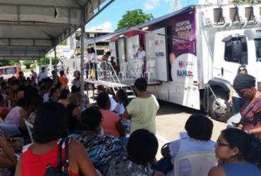 Unidade móvel do Hospital da Mulher inicia atendimentos em Jequié