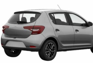 Renault Sandero e Logan mostram nova traseira