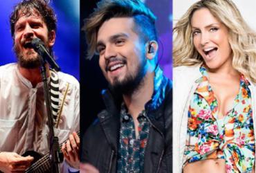 Segundo dia do Festival Virada tem Luan Santana, Claudia Leitte e Saulo