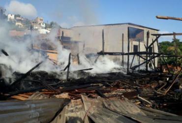 Incêndio atinge madeireira no sul da Bahia | Divulgação | Corpo de Bombeiros