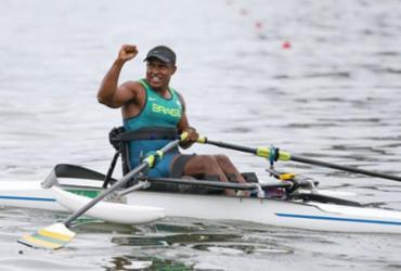 Baiano fatura tricampeonato brasileiro no remo paralímpico