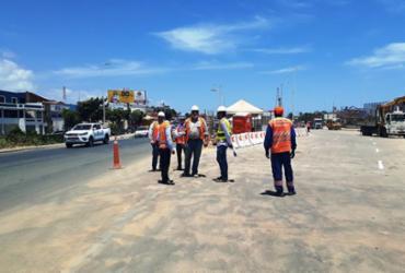 Trânsito na Estrada do Coco será modificado a partir desta quarta-feira