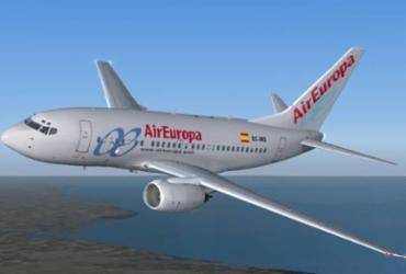 Bahia recebe novo voo da Air Europa