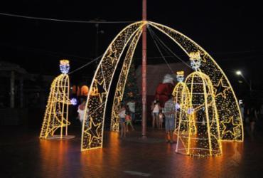 Decoração natalina de Lauro de Freitas é inaugurada nesta sexta-feira