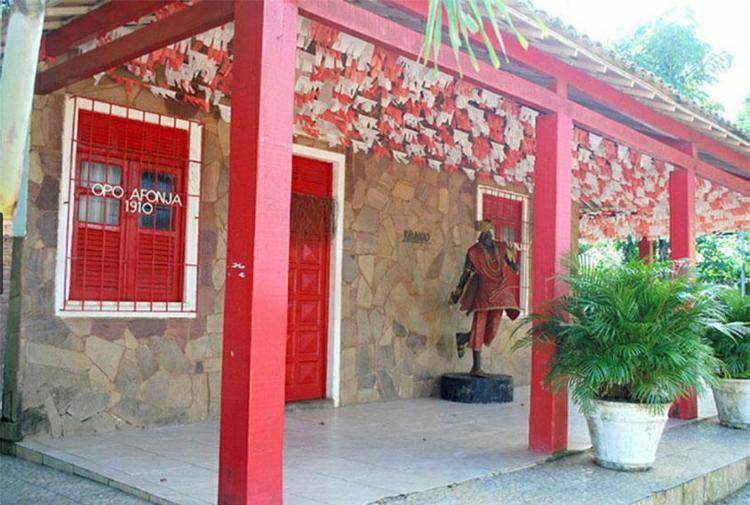 Casa de Xangô do Ilê Axé Opô Afonjá, localizada em São Gonçalo do Retiro - Foto: Acervo Iphan | Divulgação