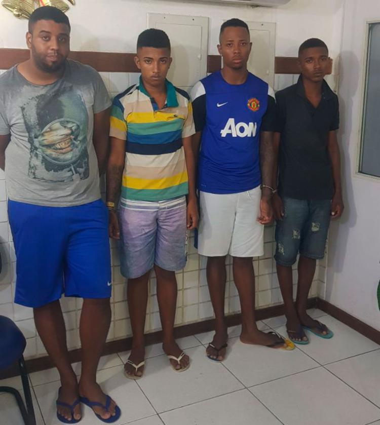 Um dos assaltantes já tinha sido preso este ano por associação ao tráfico de drogas - Foto: SSP-BA | Divulgação