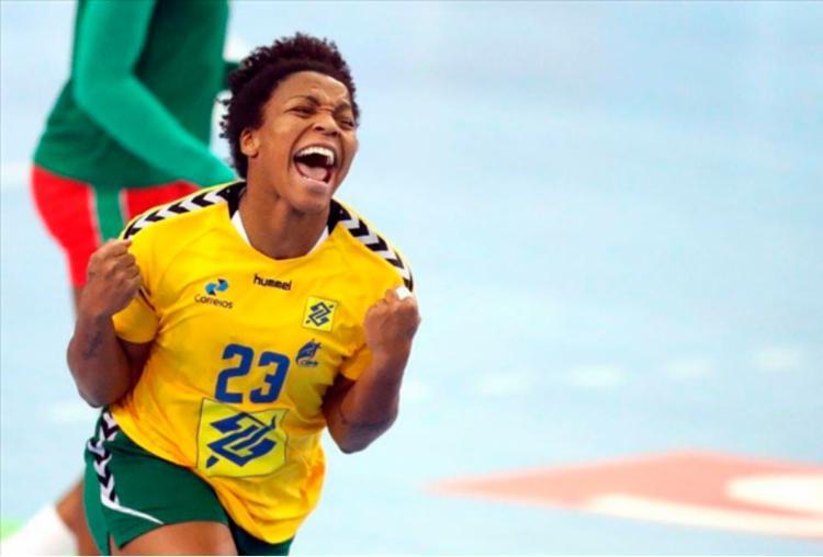 Daiane foi a melhor jogadora em quadra - Foto: Divulgação | CBHb