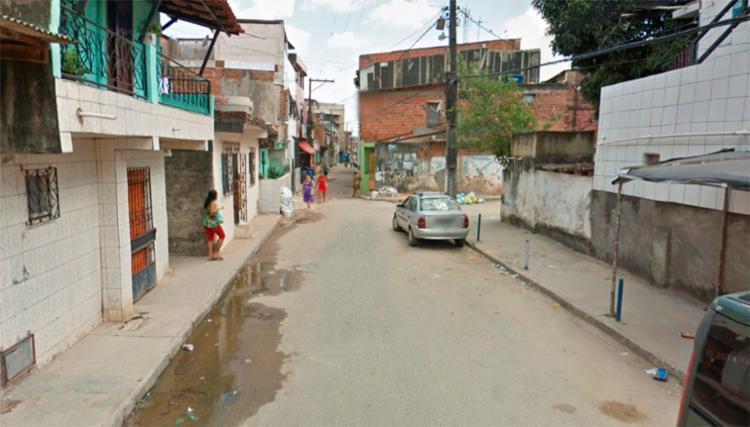 O crime aconteceu na rua Leblon, no bairro de Massaranduba - Foto: Reprodução | Google Maps