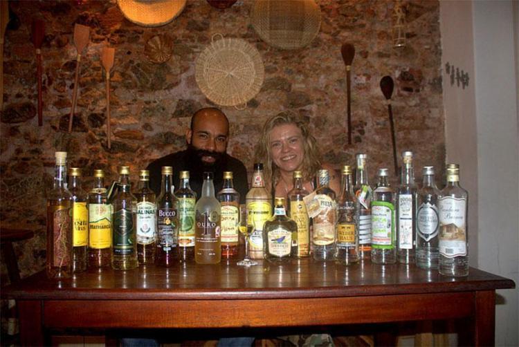 Cássio e Presentación, organizadores do festival, buscam valorizar a mais brasileira das bebidas - Foto: Divulgação