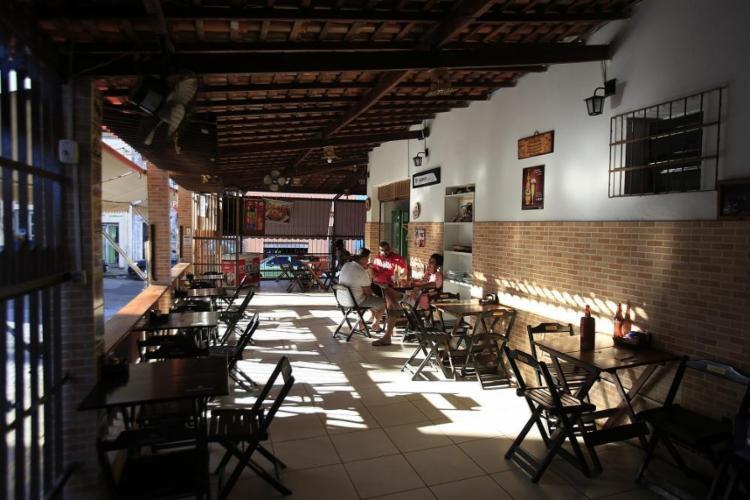 O prato mais pedido no bar Xique-Xique, nos Barris, é o escondidinho de carne de sol de bode - Foto: Raul Spinassé / Ag. A TARDE