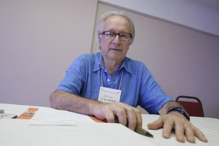 O sociólogo Julio Calzada conduziu o processo de legalização da maconha no Uruguai - Foto: Mila Cordeiro / Ag. A TARDE