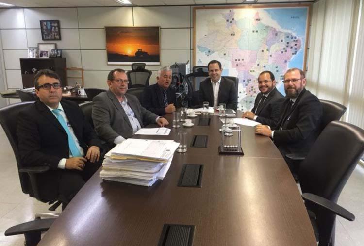 O intuito do encontro foi buscar recursos para o fortalecimento da Defesa Agropecuária - Foto: Divulgação