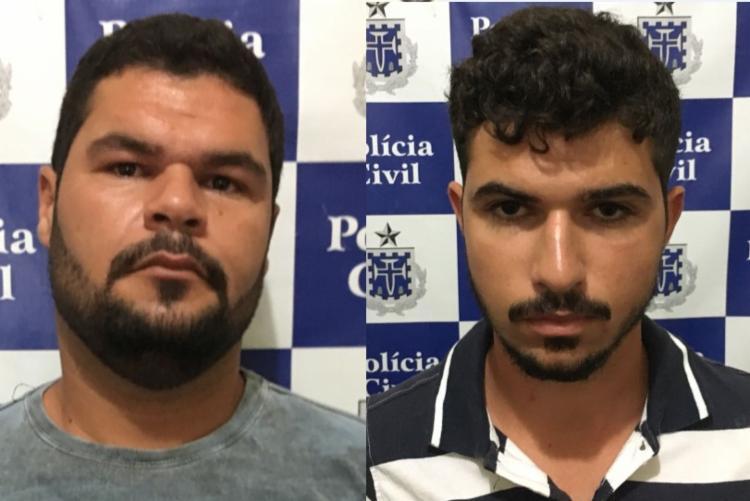 Suspeitos foram detidos em Itapetinga e Itambé - Foto: Divulgação | Polícia Civil