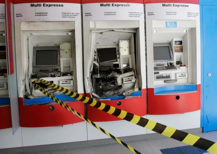 As explosões a caixas eletrônicos são, atualmente, a modalidade mais utilizada pelos criminosos no estado - Foto: Margarida Neide | Ag. A TARDE | 20.06.2017