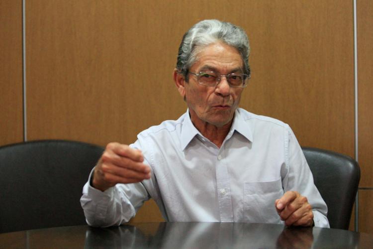 Raimundo Viana, candidato à presidência do Vitória - Foto: Raul Spinassé   Ag. A TARDE   07.12.2017