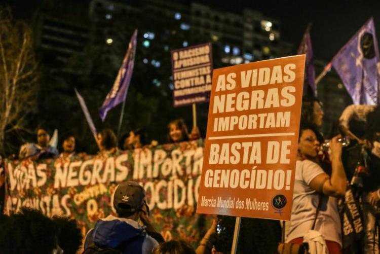 A taxa de homicídios entre mulheres de 15 a 29 anos é maior entre as negras - Foto: Paulo Pinto | Fotos Públicas