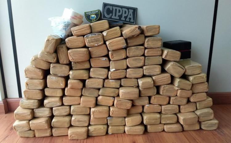 Apartamento estava vazio quando droga foi encontrada - Foto: Divulgação | SSP