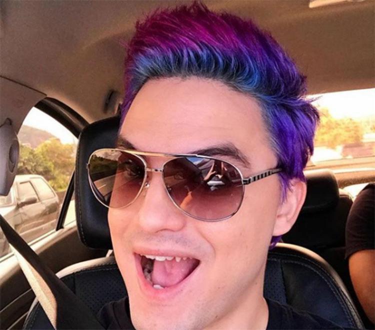 Felipe Neto muda a cor do cabelo com frequência - Foto: Reprodução | Instagram