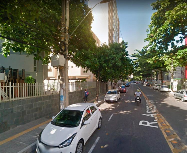 Caso ocorreu na Rua Amazonas, cruzamento com a Rua Pernambuco - Foto: Reprodução | Google Maps