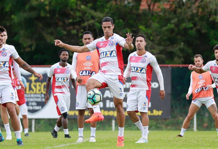 Zagueiro vai disputar o Campeonato Paulista pelo time de Novo Horizonte - Foto: Marcelo Malaquias l EC Bahia