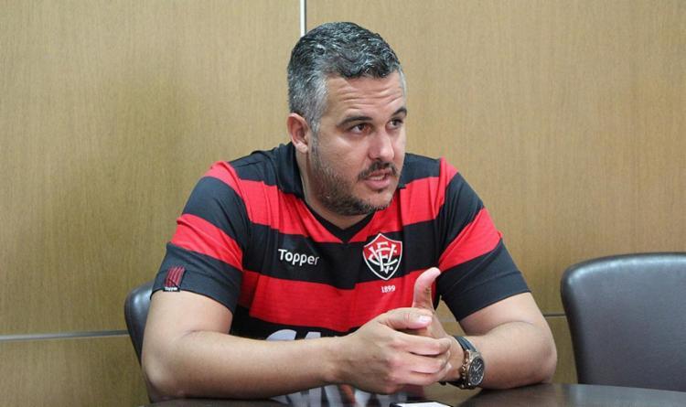 Tiago Ruas, candidato à presidência do Vitória - Foto: Alessandra Lori l Ag. A TARDE