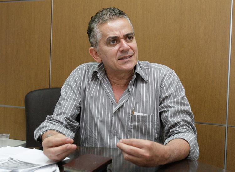 Gilson Presídio, candidato à presidência do Vitória - Foto: Luciano da Matta l Ag. A TARDE