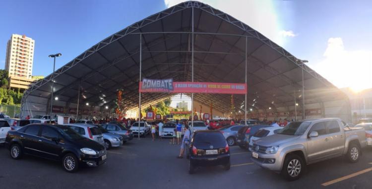 Evento disponibiliza principais marcas de carro do mundo, que variam de R$ 30 mil a R$ 249 mil - Foto: Divulgação
