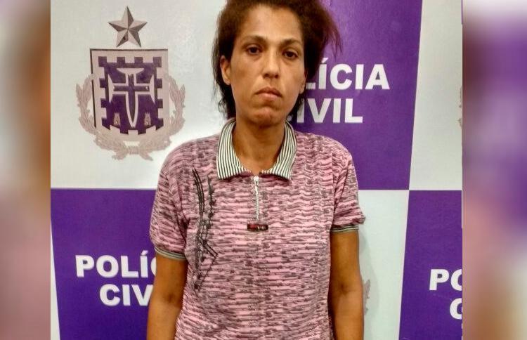 Acusada de envolvimento em dois assassinatos, Marilene Silva dos Santos teve um mandado de prisão cumprido nesta quarta - Foto: Divulgação | Polícia Civil