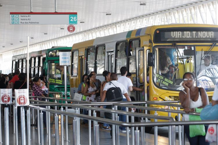 Passageiros da linha Caixa D'Água-Lapa terão que fazer integração com o Metrô - Foto: Mila Cordeiro | Ag. A TARDE