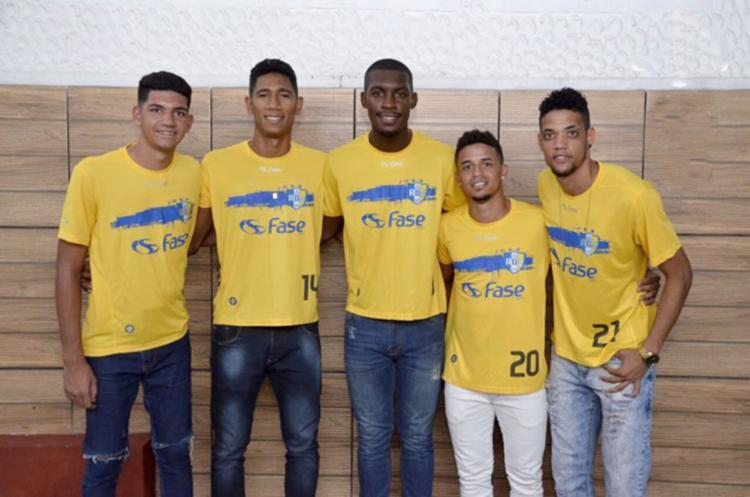 Atletas já chegaram ao clube para a disputa do Estadual - Foto: Reprodução | ADJ