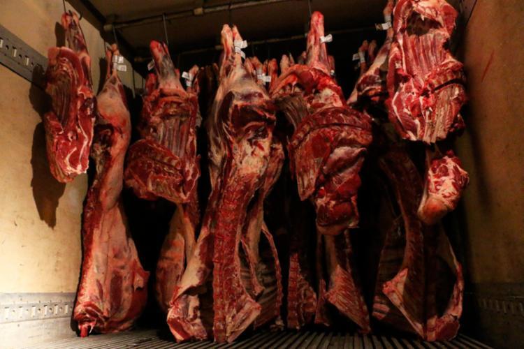 Carnes de boi, porco e ovelha eram transportadas em condições inadequadas - Foto: Divulgação | SSP-BA