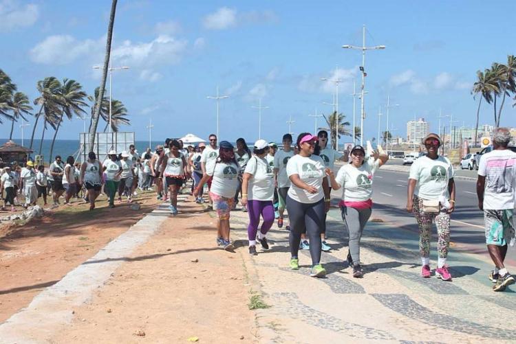 Caminhada sai do Jardim de Alah e segue até o Aeroclube - Foto: Divulgação