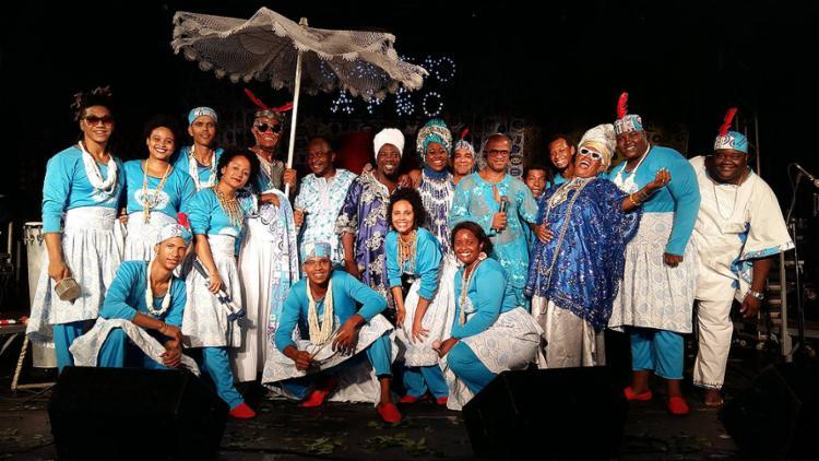 Cortejo Afro traz a sua batida percussiva que mistura ritmos africanos, batidas eletrônicas e pop - Foto: Divulgação