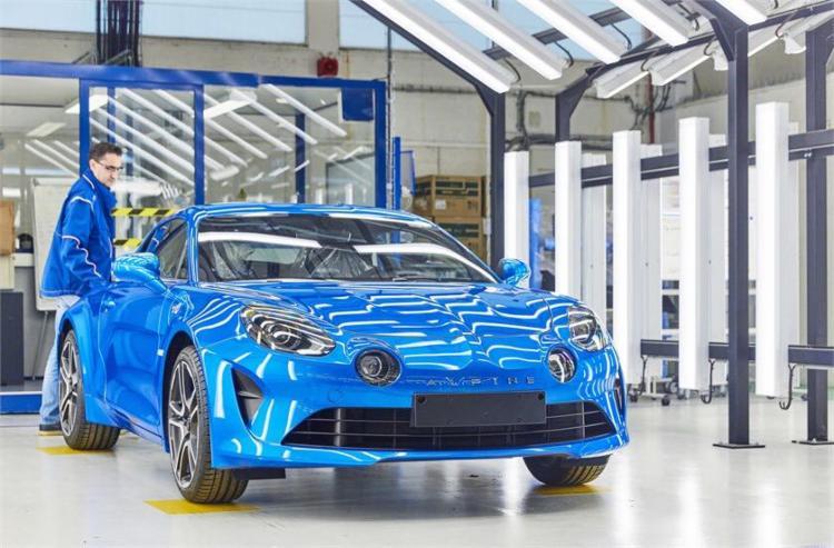 Alpine A110 é uma das apostas da Renault para produtos com perfil esportivo - Foto: Divulgação