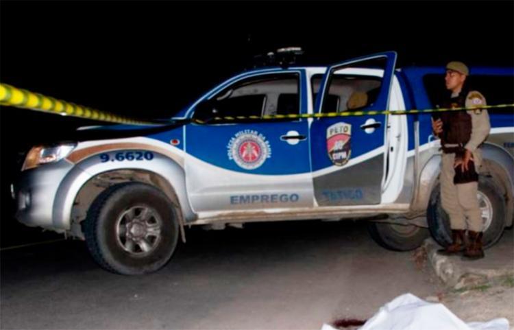O crime aconteceu na rua José Domingos Servos, em Feira - Foto: Ed Santos | Reprodução | Acorda Cidade