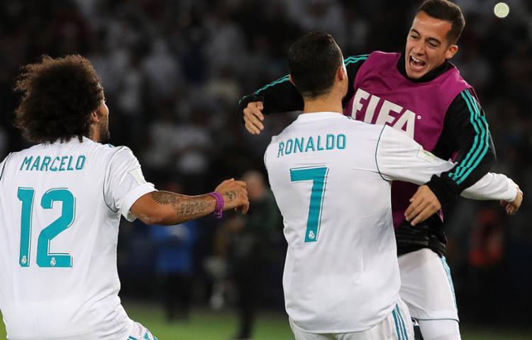 Gol de falta do português garantiu vitória por 1 a 0 sobre o tricolor gaúcho - Foto: Karim Sahib l AFP