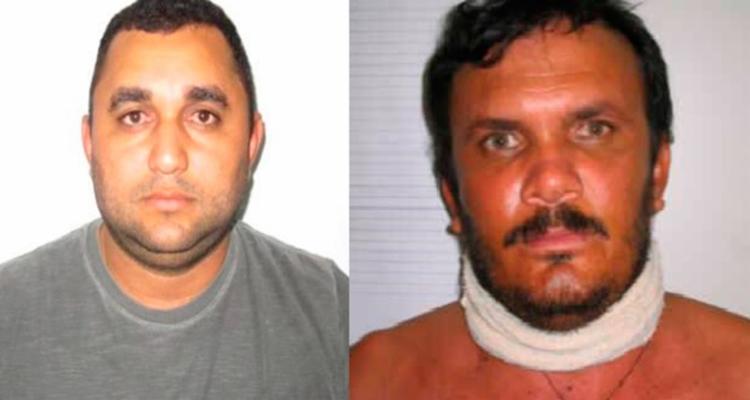 Jean Carlos e Aldenir Quirino faziam parte de uma quadrilha especializada em roubo a banco - Foto: Divulgação | SSP