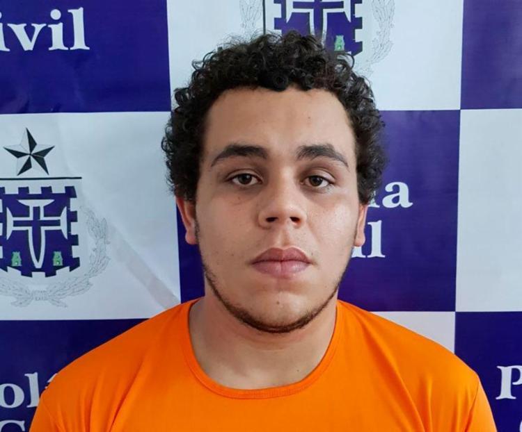 Lucas já tinha passagem por tráfico de drogas - Foto: Divulgação | PC-BA