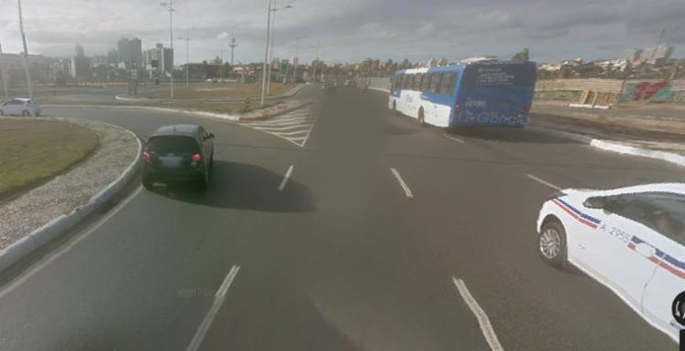 Acidente aconteceu próximo ao antigo aeroclube - Foto: Reprodução | Google Maps