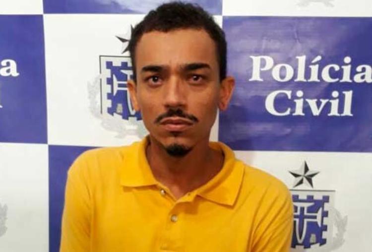 O suspeito já havia sido preso há dois meses por porte ilegal de arma de fogo - Foto: Divulgação | Polícia Civil